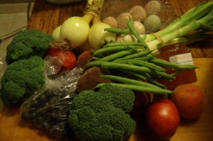 CSA last week...ready for another round tomorrow.
